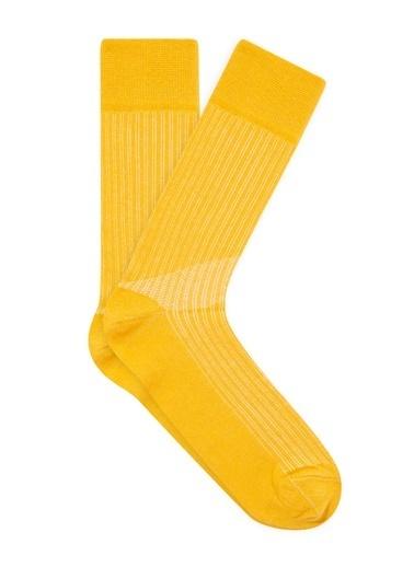 Mavi Çorap Sarı